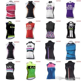 2eb83979d14 KTM LIV Team Riding Sleeveless Sweatshirt Vest Bike Sweatshirt Summer Lady  Hot ropa ciclismo hombre Road Bike Top MTB Sportswear A42338