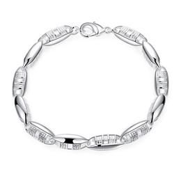 f0a01104c 925 silver bracelet men brand 2019 - Classic Brand New 925 Sterling Silver  Bracelets For Woman