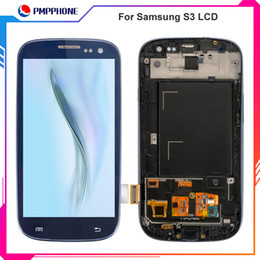 SamSung i535 lcd online shopping - AAA Adjustable Backlight LCD for Samsung Galaxy S3 i9300 i9305 i747 T999 i535 Touch LCD Screen Digitizer Frame Replacement Fast Shipping