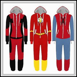 $enCountryForm.capitalKeyWord Australia - Superhero Cosplay Costume Spiderman Homecoming Pajamas Flash Man Jumpsuit Pyjamas Sleepwear Halloween Party Outfit Rompers 6pcs