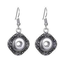 $enCountryForm.capitalKeyWord UK - Charm Retro Snap Button Earring Female fit 12mm Snap Fashion DIY Jewelry TZH865