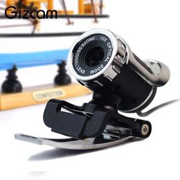 Wholesale Gizcam USB Webcam Camera Video w MIC Plug Play For Computer Laptop Desktop For Win8