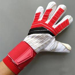 White summer gloves online shopping - Adult Men Ace Trans Pro without Finger Save MM Latex Soccer Gloves Goalkeeper Gloves Training Football Gloves