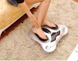 $enCountryForm.capitalKeyWord NZ - Electric Foot Massager Far Infrared Heat Electromagnetic Points Reflexology Feet Massage Machine Slimming Belt EMS Pad Body Care