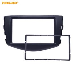 Dash facia online shopping - FEELDO Car Dash Mount Trim Kit Fascia for Toyota RAV4 Facia Adapter Panel Face Plate Frame