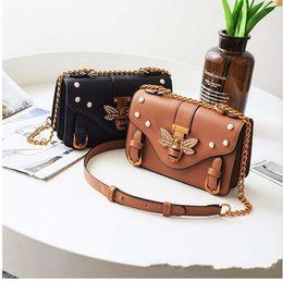 a9f34f93232a Black doctors Bag online shopping - Brand Bag Women Messenger Bags Little  bee Handbags crossbody bags