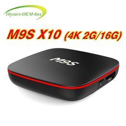 $enCountryForm.capitalKeyWord Canada - 2018 Cheapest 2GB 16GB Android 7.1 TV BOX M9S X10 Rockchip RK3229 H.265 4K WiFi Bluetooth Media Player IPTV Boxes