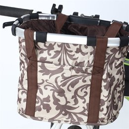 Baskets cars online shopping - Bicycle Basket Life Outdoors Riding Bag Must Be Necessary Multi function Front Baskets Car Home Cycling Design yx ii