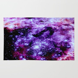 Chinese  Modern Design Polyester Beach Bath Towel Funny Beautiful Amazing Purple GalaXy 27 x 54 Inches Face towel Hand manufacturers