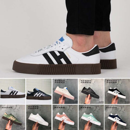 $enCountryForm.capitalKeyWord Australia - Outdoor samba rose casual shoes High Quality Men Women Runner white black pink light blue green red oreo Beige Student shoes Eur 36-45