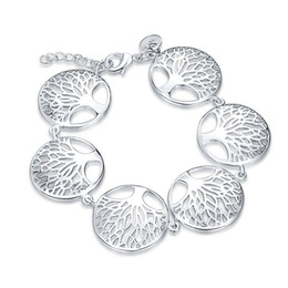 $enCountryForm.capitalKeyWord NZ - Good A++!Christmas tree Bracelet 925 silver bracelet JSPB558;low price girl women sterling silver plated Charm Bracelets