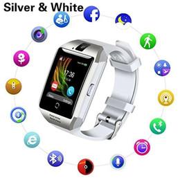 Bluetooth Smart Watch Sim Australia - Smart Watch Bluetooth Smartwatch with Camera TouchScreen SIM Card Slot Waterproof Phones Smart Wrist Watch Sports Fitness Tracker Compatible