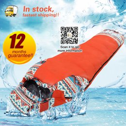 Weather Bags Australia - Winter Sleeping Bag Cold Temperature Sleeping Bag for Winter Duck Down Filling 1.5kg down