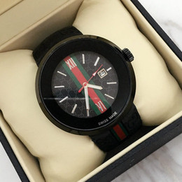 Round clock men online shopping - Hot Items Fashion Men women Watch Quartz Watch Sport Date high quality Wristwatches AAA top brand clock rubber band Relojes De Marca Mujer