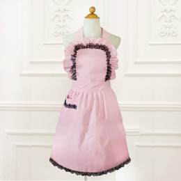 $enCountryForm.capitalKeyWord NZ - Princess sweetlolita apron South Korea Japanese style Pink Japanese Maid Dress apron WQ19