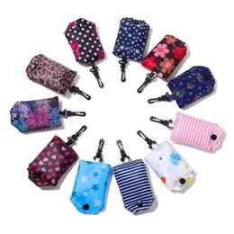 $enCountryForm.capitalKeyWord Canada - Newest Polyester Foldable Shopping Bags Reusable Eco-Friendly folding Bags Shopping Bags new Ladies Tote bag T3I0382