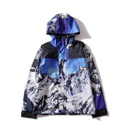 Nueva calidad superior S N 2 marca cartas chaqueta para hombre chaqueta con capucha Nueva Snow Mountain Hoodie ropa masculina M-XXL