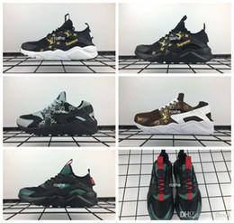 brand new 24bdc d15b6 2018 New Huaraches Running Shoes For Men   Women, High Quality Huarache  Famous Brand huraches Custom Designer Sport Sneakers 36-46