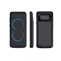 China 2018 Mobile Phone 5500mah Power Banks Case Battery Charger For Samsung S8 Plus Battery Charging Case in stock supplier power bank for mobile charging suppliers