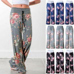 $enCountryForm.capitalKeyWord Australia - yoga pants LADIES FLORAL YOGA PALAZZO TROUSERS WOMENS SUMMER WIDE LEG PANTS PLUS SIZE 6-20