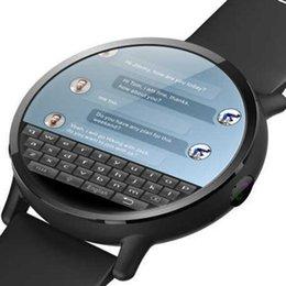 Intelligente Guarda Android 7.1 4G di Sim WIFI 2.03 pollici 8MP fotocamera Cuore GPS Tasso IP67 impermeabile Smartwatch Uomo Bracciale Sport Donne in Offerta