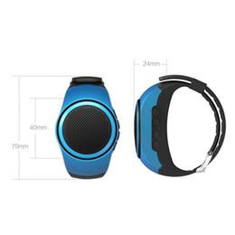 $enCountryForm.capitalKeyWord Australia - ZZYD B20 Mini Bluetooth Speaker Bass Smart Watch Bluetooth Wireless Universal For Music Player With TF Card DHL free ship