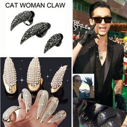 $enCountryForm.capitalKeyWord NZ - Europe and America foreign trade explosive money retro hawk claw ring men diamond ring 2 yuan shop stall hot sell wholesale jewelry