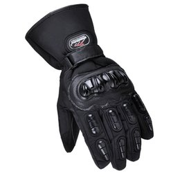 Gloves motorcycle motorbike online shopping - 100 Waterproof Motorcycle Gloves Winter Warm Windproof Protective Motorbike Racing Gloves Motocross Guantes Moto Luvas