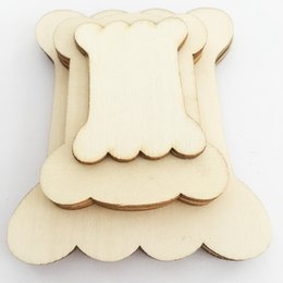 $enCountryForm.capitalKeyWord Australia - Creative Bone Shape Wood Blank Floss Bobbins Wooden Thread Cards Cross Stitch Threading Board Sewing Tools Wood Art Craft