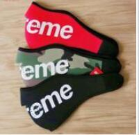Army mAsks online shopping - 14 AW Neoprene mask Face Mask red black camo face masks man mask