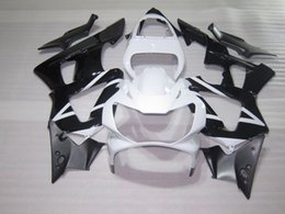Honda Cbr929 Australia - High quality fairings for Honda CBR900RR CBR929 2000 2001 white black fairing kit CBR929RR00 01 HA22