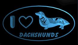 $enCountryForm.capitalKeyWord Australia - LS1772-b-I-Love-Dachshund-Dog-Pet-Shop-Neon-Light-Sign Decor Free Shipping Dropshipping Wholesale 8 colors to choose