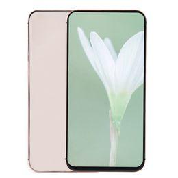 English Id Card NZ - Face ID Goophone XS Max V4 Clone 1GB 16GB 3G WCDMA Quad Core MTK6580 6.5 inch All Screen Wireless Charging GPS Dual Nano Sim Card Smartphone