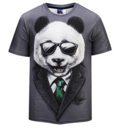 $enCountryForm.capitalKeyWord Canada - New Fashion T-shirt Men Women Summer style 3d T shirt Print Glasses Panda Originality Funny Casual T-Shirts