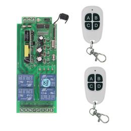 $enCountryForm.capitalKeyWord NZ - 315 433 MHz Universal Wireless Remote Control Switch 85V-265V 110V 220V 4CH 4 CH Relay Receiver Module RF Remote Transmitter