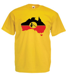 Discount funny t shirts xxl - ABORIGINAL FLAG australia tee NEW Mens Womens T SHIRT TOP size 8-16 s m l xl xxL Funny free shipping Unisex Casual tee g