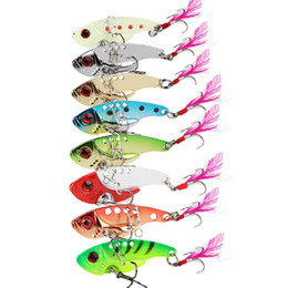 Metal Fishing Lures Australia - Spinnerbaits metal bait fishing iron VIB 12g gold silver sequins fish lures baits spoon spinner swimbait crankbait free shipping