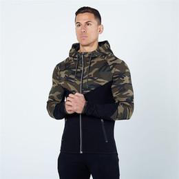$enCountryForm.capitalKeyWord UK - Gym Hoodies Men Autumn Spring Men Army Camouflage Sweatshirt Golds Bodybuilding Sport Hoodies Fitness Jogger Mens Jacket
