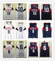 14d4feeec52 NCAA Wholesale 2008 Olympics Dream Team  10 Bryant  6 LeBron James Jersey 8   Dwyane Wade Basketball Jerseys James Shirt Free Shipping
