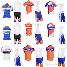 summer rabobank cycling jersey bike clothing short sleeve shirt bicycle bib  shorts sets ropa ciclismo ropa ciclismo hombre C0804 d80734ee1