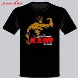 $enCountryForm.capitalKeyWord Australia - Arnold Schwarzenegger Mr. Olimpia Body Building Men's Black T-Shirt Size S-3XL