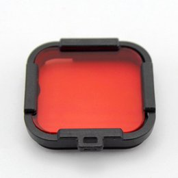 $enCountryForm.capitalKeyWord Australia - Plastic Diving Color Filter Lens Cover For GoPro Hero 5 4 session action camera waterproof housing case