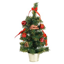 $enCountryForm.capitalKeyWord UK - New Hot 45CM Height Table Top Christmas Tree Xmas Party Office Hanging Decoration Ornaments 3 Colors Party Decoration Supplies