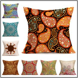 New Embroidered Pillowcases UK - Custom Pillow Covers Purchased In Bulk New Linen Cotton Sofa Pillow Cases Any Size Just Offer Pictures 3-4Days Delivery Car waist Pillowcase