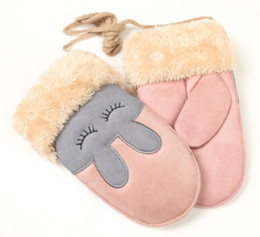 $enCountryForm.capitalKeyWord NZ - 3-7 Years Old Suede Fabric Children's Gloves Winter Bag Fingers A variety Of Colors Support Custom Manufacturers Direct Sales zhujingy