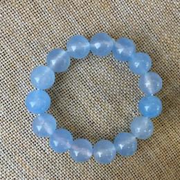 Discount light green bracelet - 12mm NATURE Light blue BRACELET GREEN HAND CATENARY A stone
