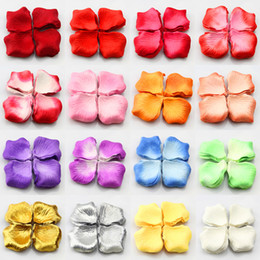 School carpetS online shopping - Artificial Silk Flowers Wedding Flowers Cheap Rose Petals bag Valentine s Favor Party Table Carpet Wedding Decorations