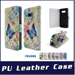 Credit Card folio wallet online shopping - Wallet Case For LG Q7 PLUS Metropcs Q8 K11 PLUS For Alcatel Folio Metropcs with stand credit card slots phone case B
