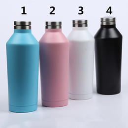 $enCountryForm.capitalKeyWord NZ - Thermos wine bottle 304 stainless steel mug double wall insulated vacuum tumbler 500ml travel car auto cup free shipping FEDEX