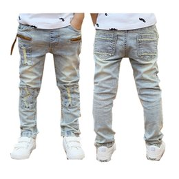 $enCountryForm.capitalKeyWord Canada - Boys Jeans 2018 Spring Autumn light-colored good quality jeans for boys fashion style children pants 3to 12 years old B131 Y18103008
